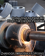 Roller Shell for Pellet Mill